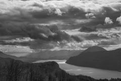 Lac du Bourget en noir et blanc - Canon EOS 5D Mark III - EF 50 mm f/1,4 USM - ISO 200 - f/11 - 1/2000 s