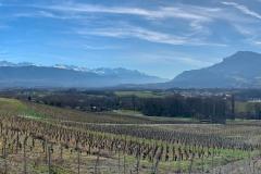 Panoramique chaine de Belledonne et mont Granier - iPhone XS Max - ISO 25 - f/1,8 - 1/2500 s