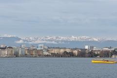Genève et les montagnes