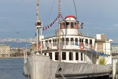 bateau lac de genève