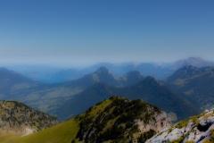 Le lac d'Annecy depuis le Mont Colombier - Canon EOS 5D Mark III - EF 50 mm f/1,4 USM - ISO 200 - f/11 - 1/1000 s