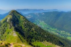 Panorama depuis le Mont Comobier (panoramique 4 photos) - Canon EOS 5D Mark III - EF 50 mm f/1,4 USM - ISO 200 - f/11 - 1/1000 s