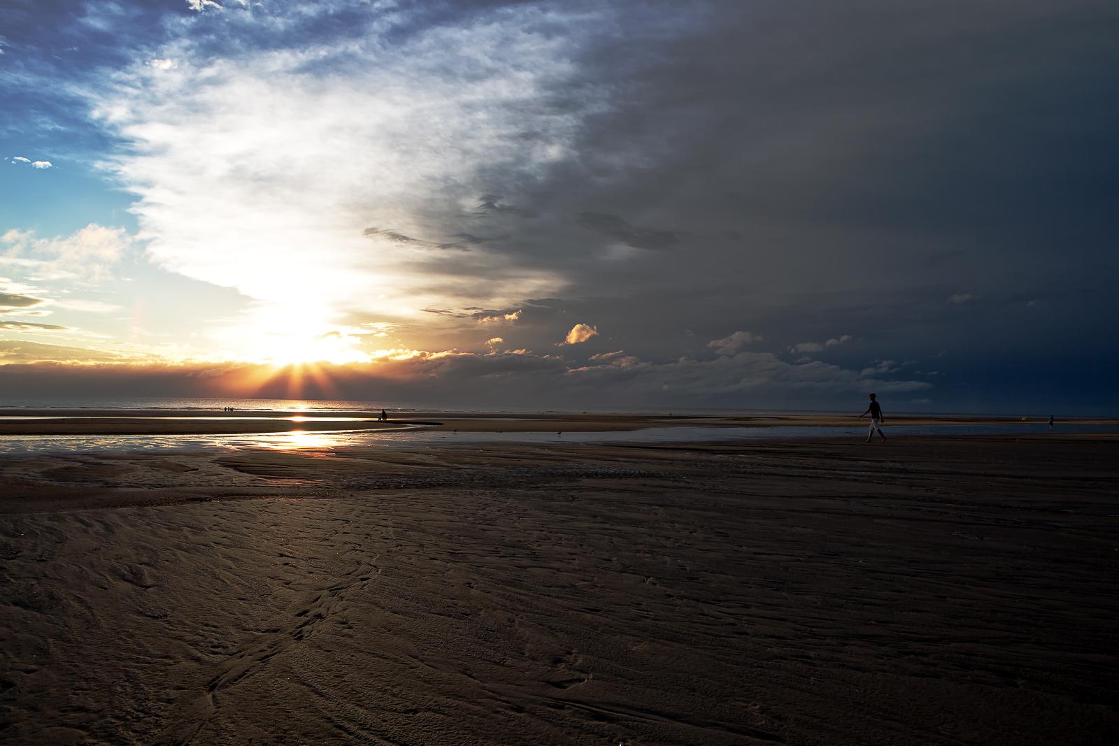 spots photos Coucher de soleil dans le Nord pas de Calais
