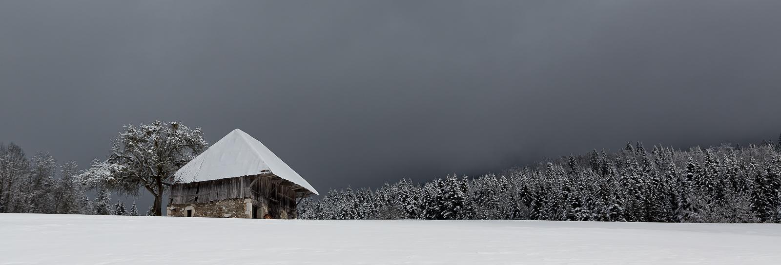 paysages d'hiver en Savoie