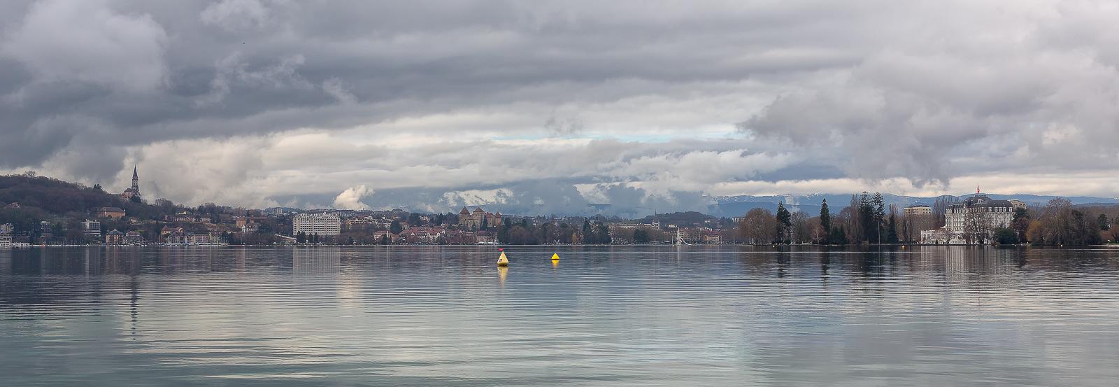 EF 50mm f/1,4 Les berges d'Annecy