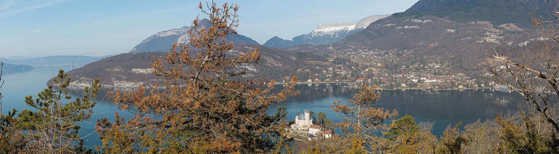 Panoramique château de Duingt