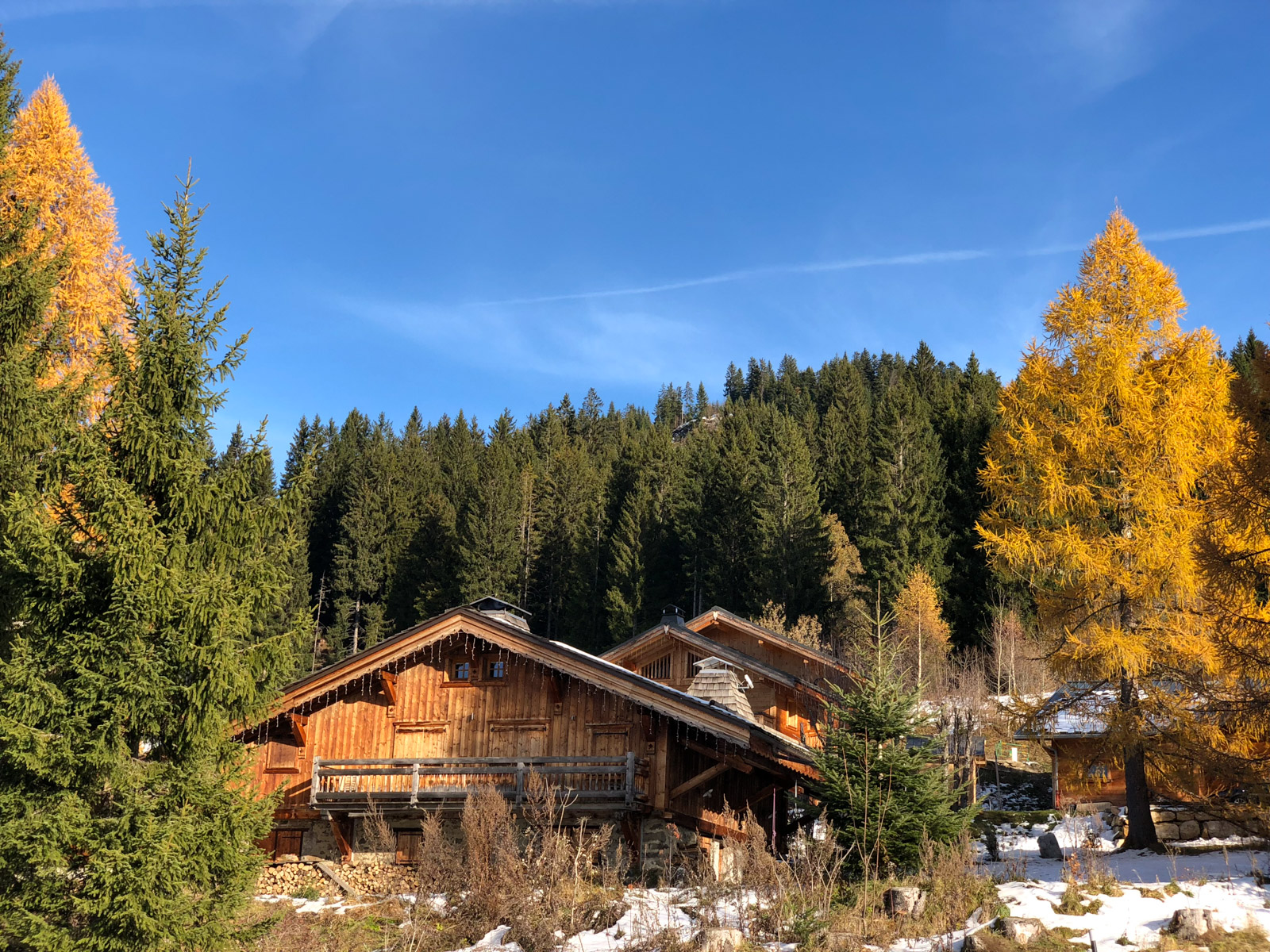 Chalet aux carroz d'arâches - iphone X
