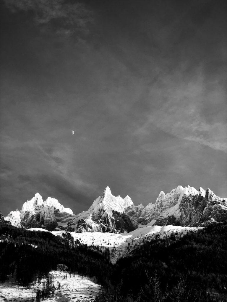 Projet 365 - Vue depuis Chamonix Mont-Blanc