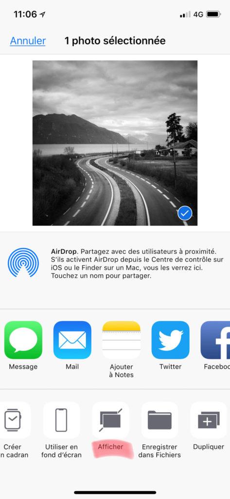 Masquer ses photos sur un iPhone ou un iPad