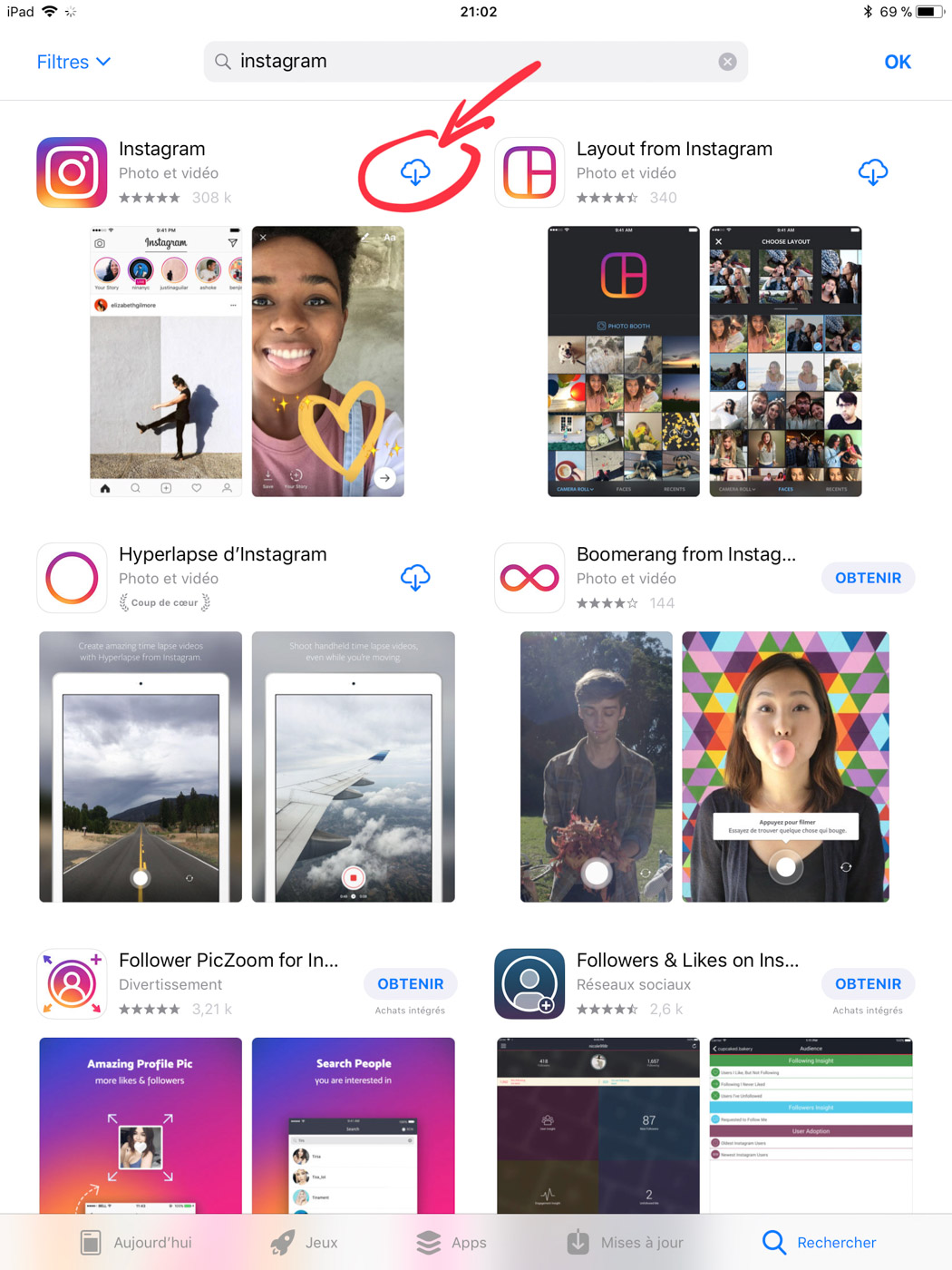 Installer instagram sur ipad yapasfoto - Comment installer office 365 sur ipad ...