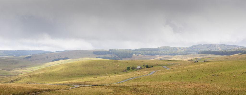 Panorama de l'Aubrac