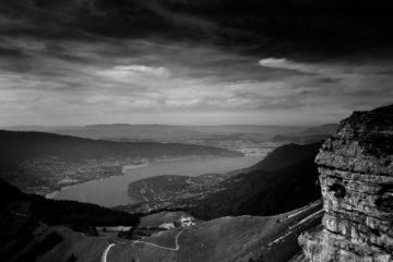 Projet photo 2018 - Le lac d'Annecy depuis le refuge de la Tournette
