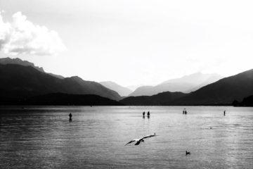 Projet 365 2018 - Marée basse sur le lac d'Annecy