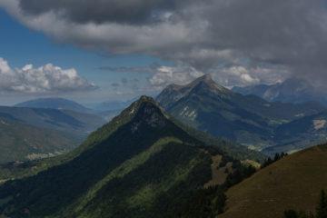 Vue depuis la pointe de la Galoppaz
