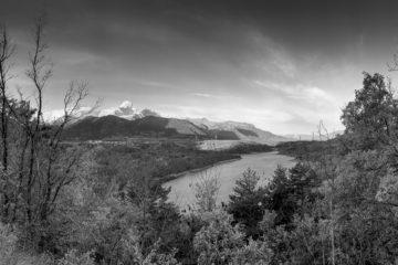 Projet 365 - Panoramique du lac du Sautet