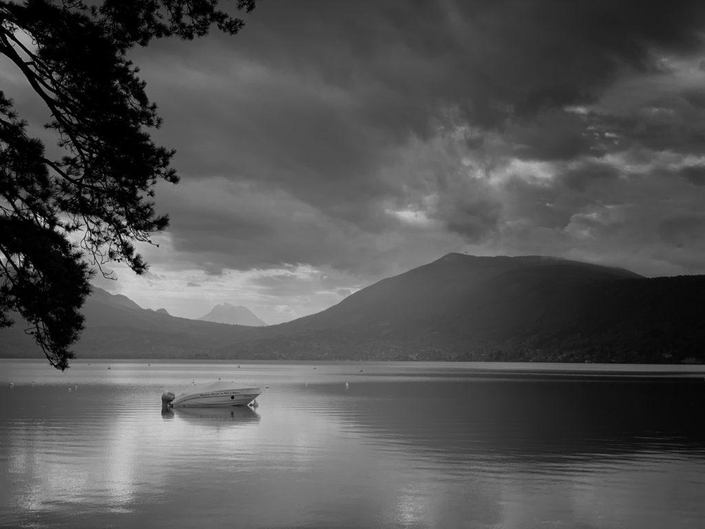Projet photo 365 - Calme plat sur le lac d'Annecy