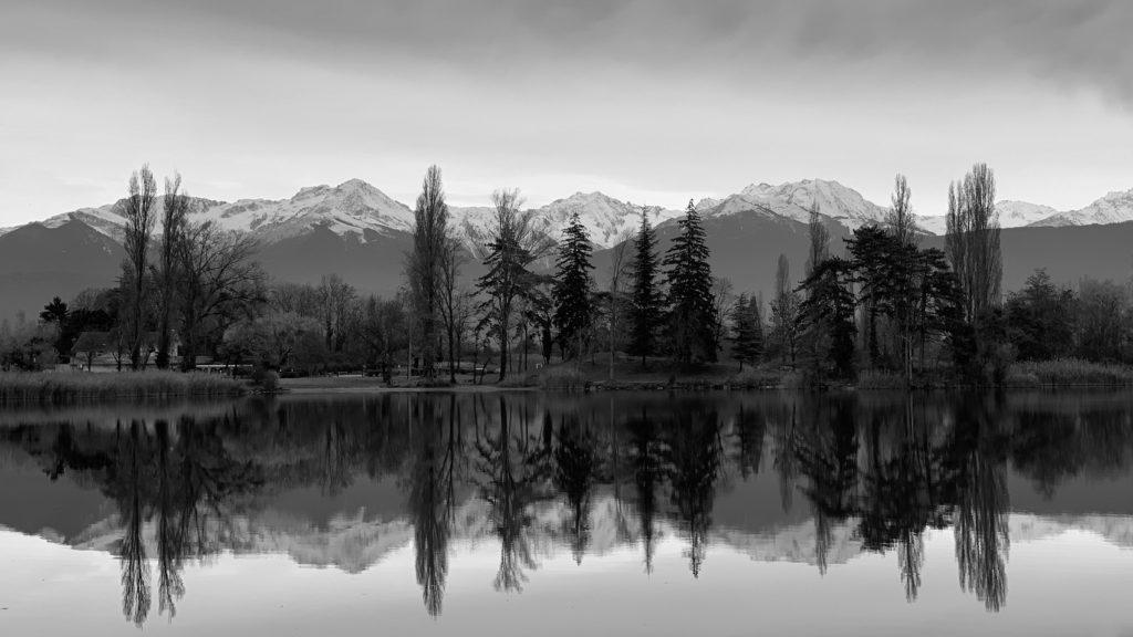 Projet photo 365 - Lac de St André et la chaine de Belledonne