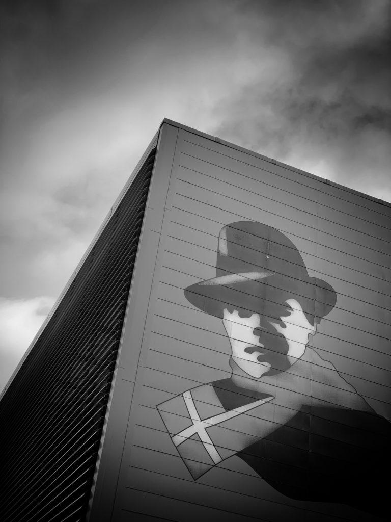 Projet 365 - Jean Moulin sur les murs d'Albertville