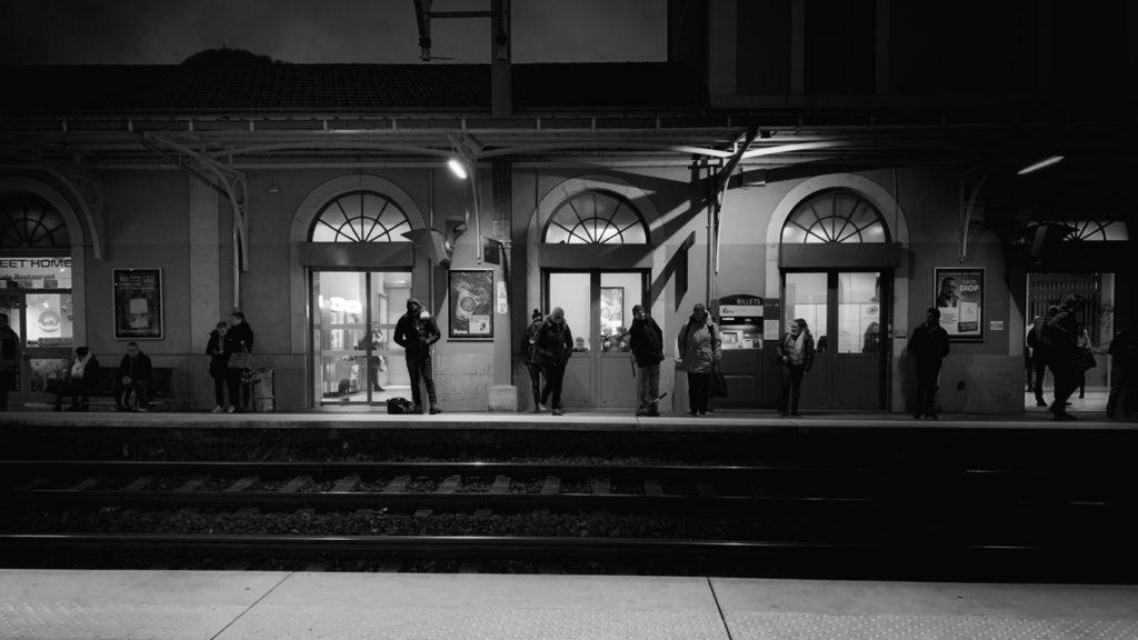 Projet 365 - Le train en provenance de...