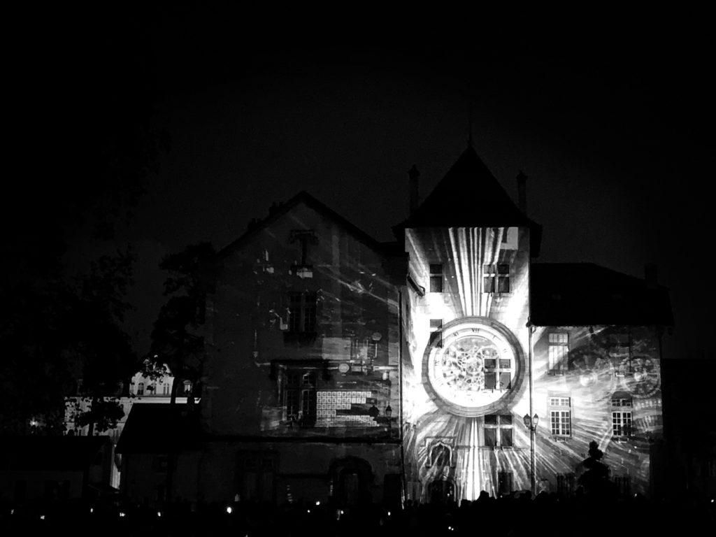Projet 365 - Mapping vidéo à Aix les Bains