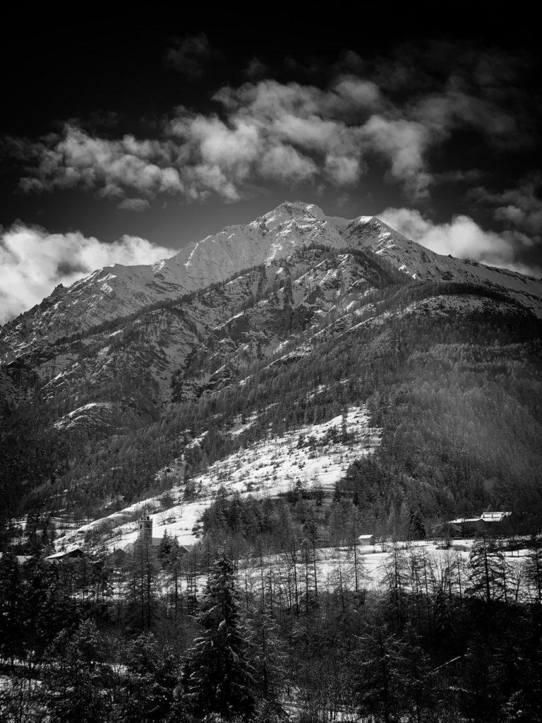 Projet 365 - Mont Chaberton sous la neige