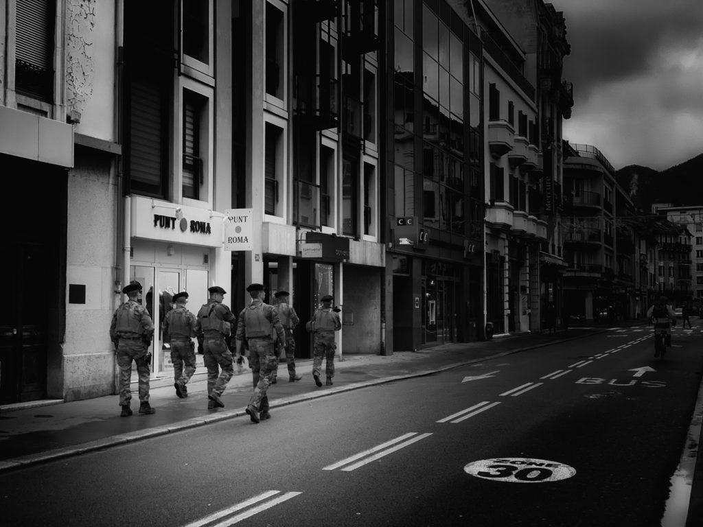 Projet 365 - Vigipirate dans les rues d'Annecy