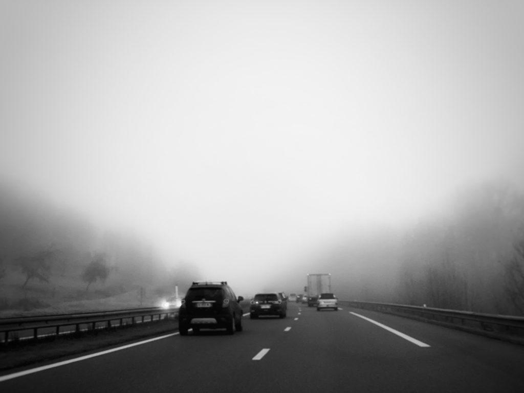 Projet 365 2018 - On the road dans le brouillard