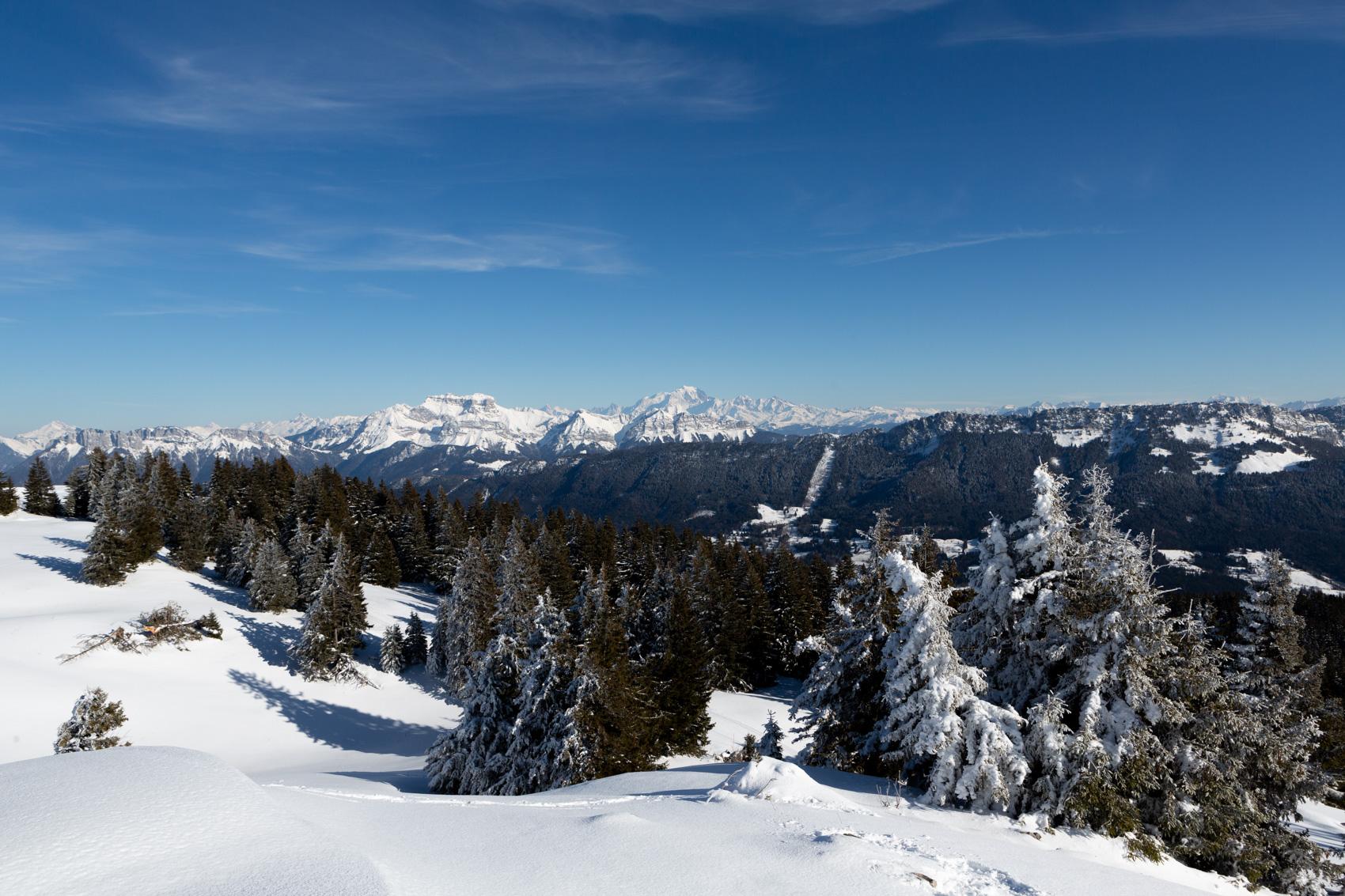 Projet 52 - La Tournette et le Mont-Blanc