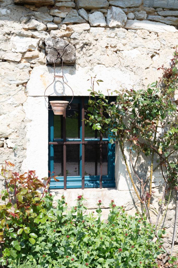 Fenêtre d'une vieille maison