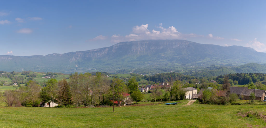 Panorama avant pays Savoyard