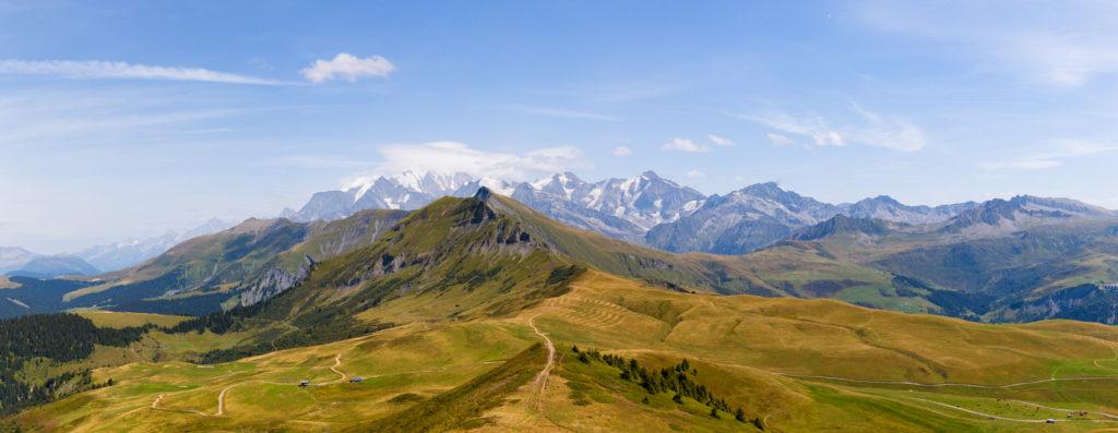 Projet 52 - Panoramique du Mont-Blanc