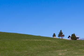 Chalet d'alpage minimaliste
