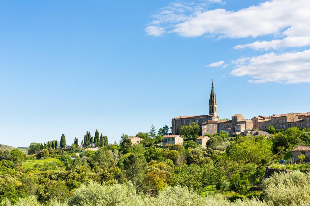 Ardèche - Eglise de Banne