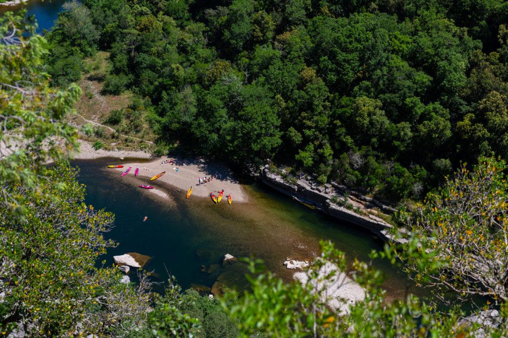Ardèche - Le paradis des canoés