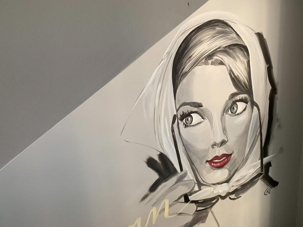 Hotel California - Fresque de Philippe Boonen