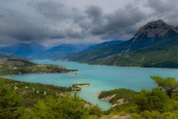 Projet 52 - Panoramique lac de Serre-Ponçon