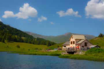 Le lac et refuge Napoléon
