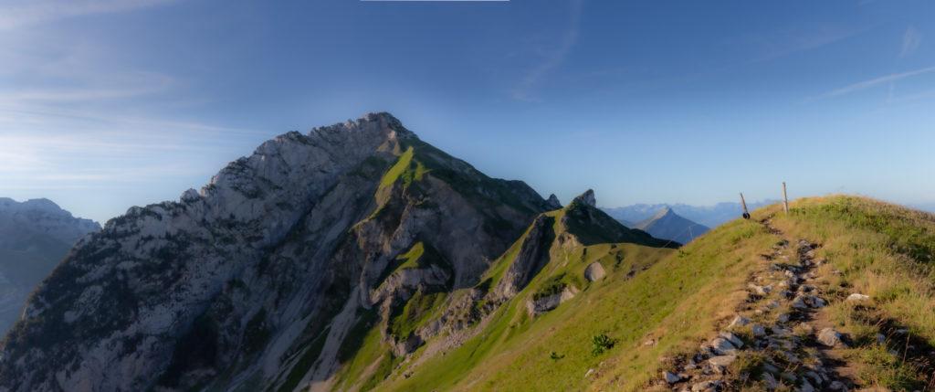 Panoramique du Trélod