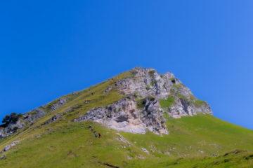 En route pour le sommet du Mont Colombier