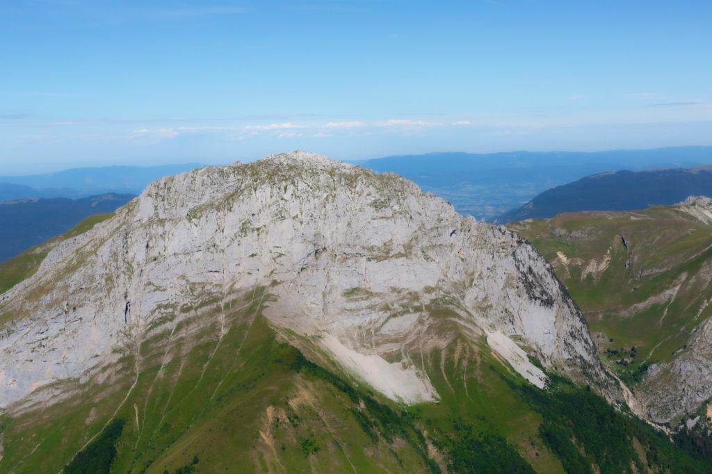 Le Trélod depuis le sommet de l'Arcalod