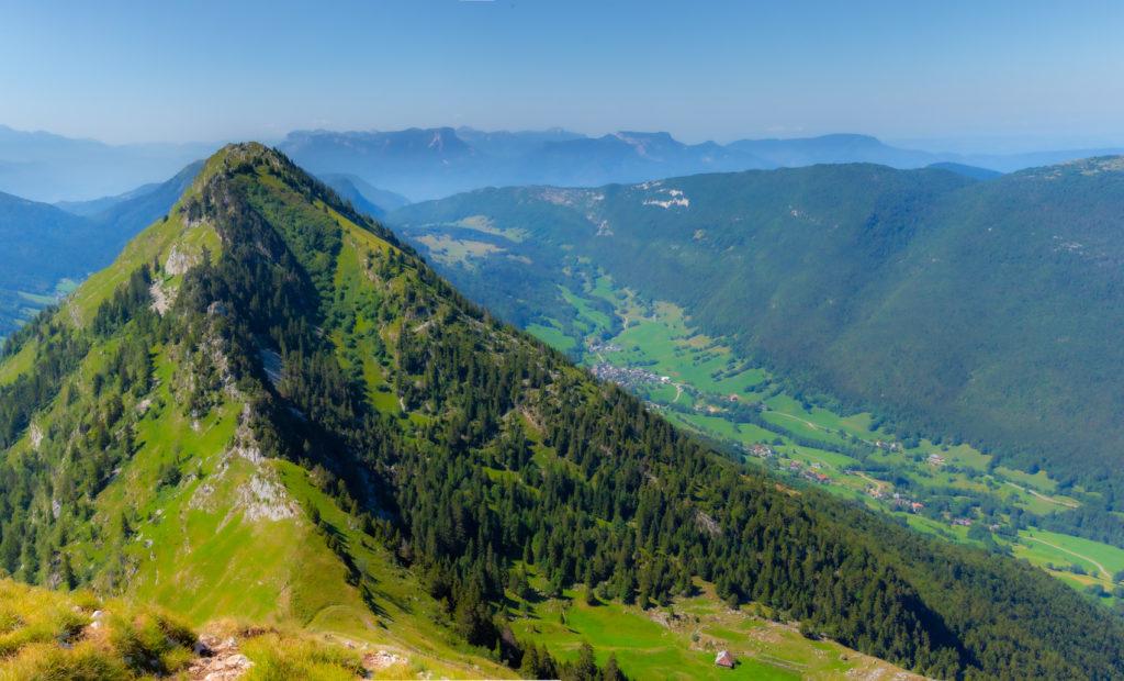 Panorama depuis le Mont Comobier