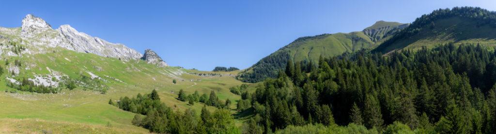 Panoramique combe des chalets d'Orgeval