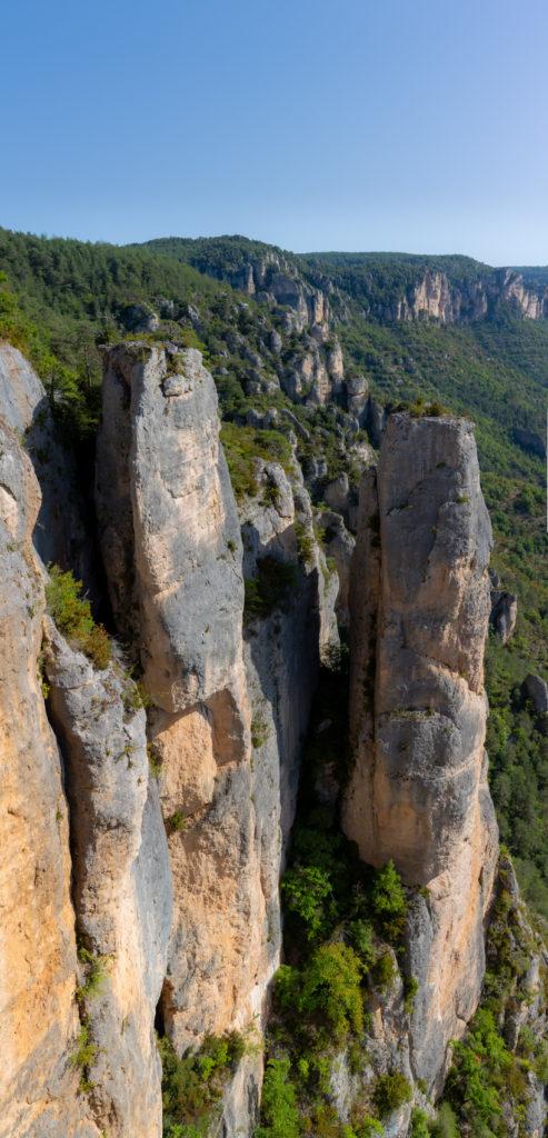 Causse Méjean - Falaise des gorges de la Jonte
