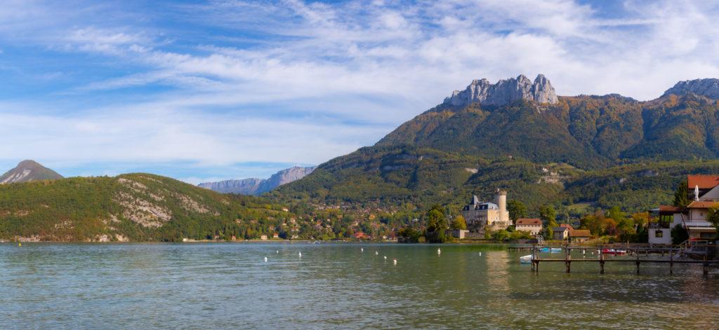 Château de Duingt et la Tournette