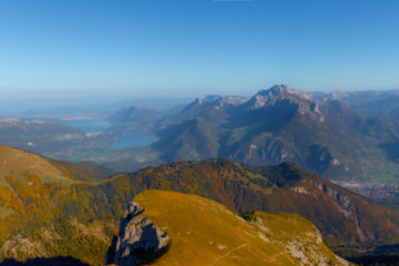 Panoramique depuis la pointe de la Sambuy