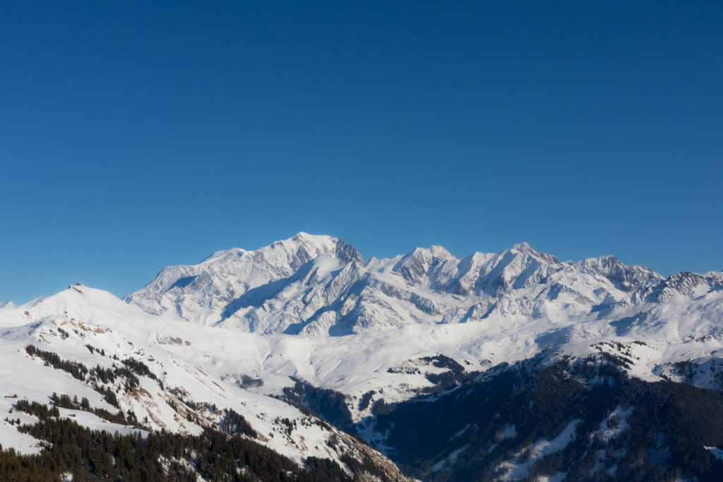 Projet 52 - Le Mont-Blanc depuis la station des Saisies