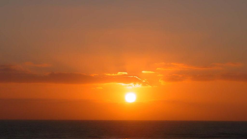 Projet 52 - 2020 - Coucher de soleil à Biscarrosse plage
