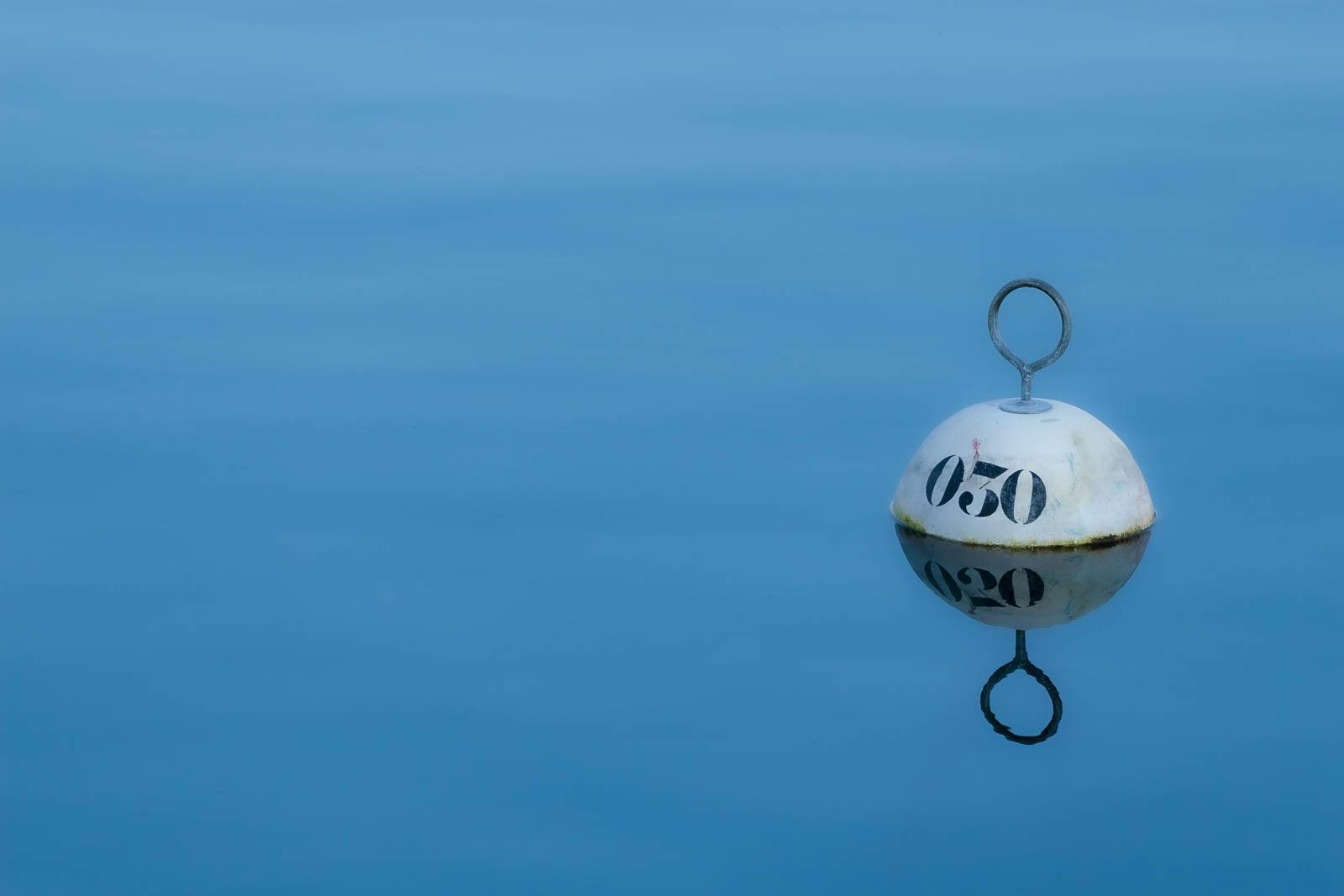 Projet 52 2020 - Bouée dans le port d'Evian les Bains