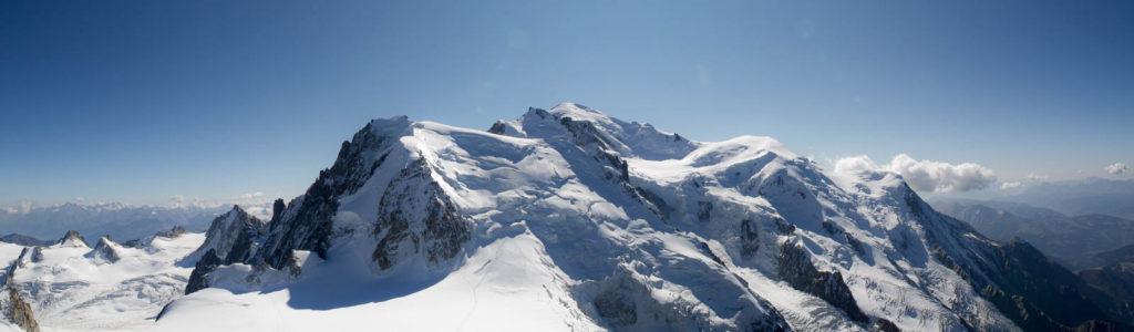 Mont-Blanc depuis l'Aiguille du du Midi