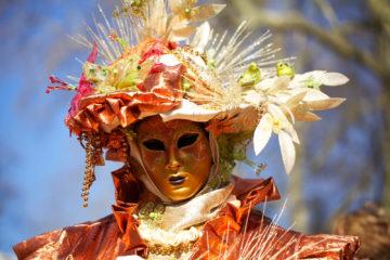 Projet 52 - Carnaval vénitien d'Aix les Bains en 2012